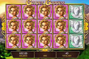 Golden Goddess slot stack