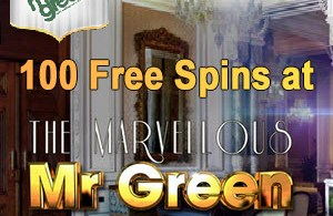 Mr Green 100 free spins
