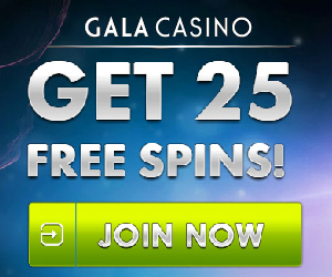 gala mobile casino 25 free spins