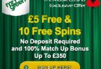 mobile casino mr green 5 free 10 free spins