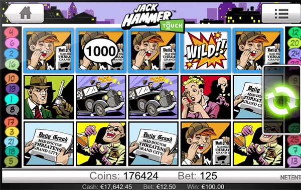 Play Jack Hammer Slot Online at Casino.com UK