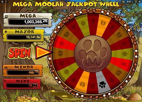mega moolah slot jackpot