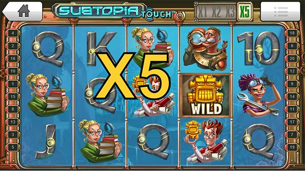Subtopia Slot win