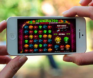 casino game on iPhone