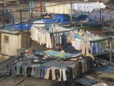 Dhobi ghat, where the city gets its washing done