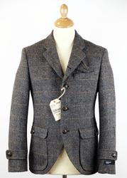 Gison Tweed 3-button blazer from Atom Retro £150