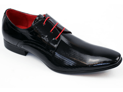 Wizard PAOLO VANDINI retro Mod etched patent shoe £52.50 from Atom Retro