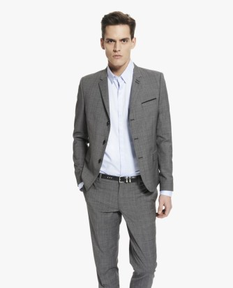 The Kooples 3-button prince of wales check jacket £197
