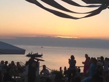 Cafe del Mar at sunset