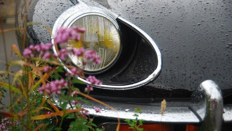 driving under the rain