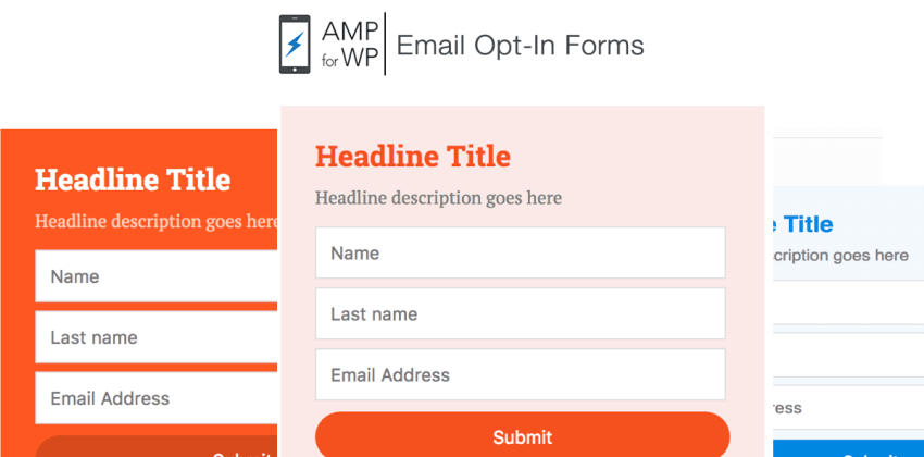 How to Create AMP Email Opt-in Forms on WordPress