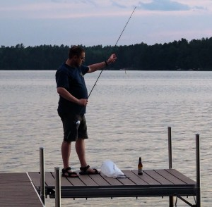 fishing relieves stress