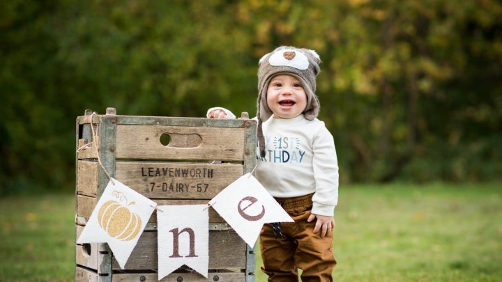 Our Little Pumpkin is ONE!