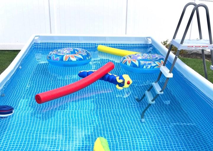 Intex Pool Setup & Review