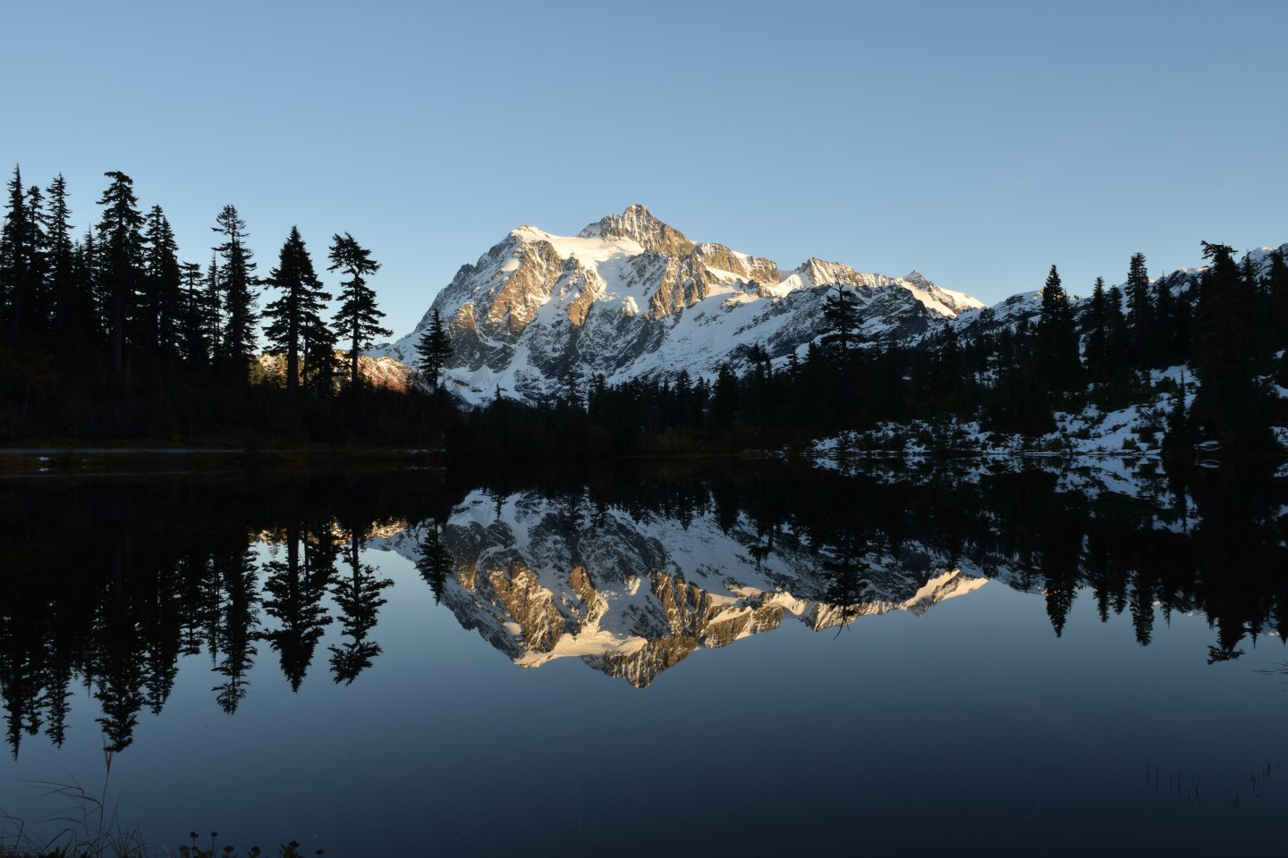 Mt. Shuksan. We offer photography, web design and travel planning services.