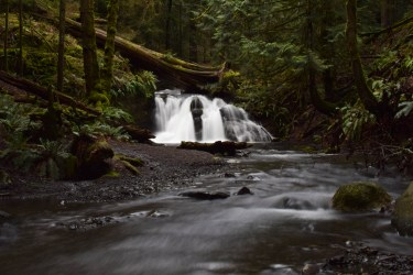A waterfall in Washington. We offer photography services.