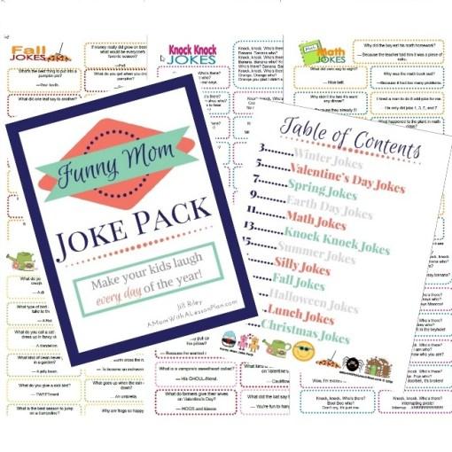 Funny Mom Joke Pack