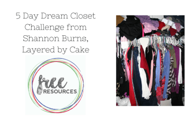 5 Day Dream Closet Challenge from Shannon Burns