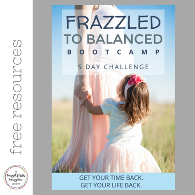 frazzled to balanced bootcamp
