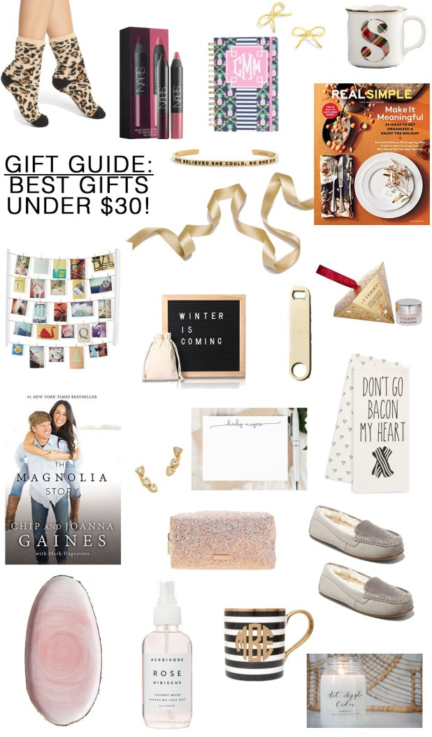 christmas gifts under 30 life the modern savvy