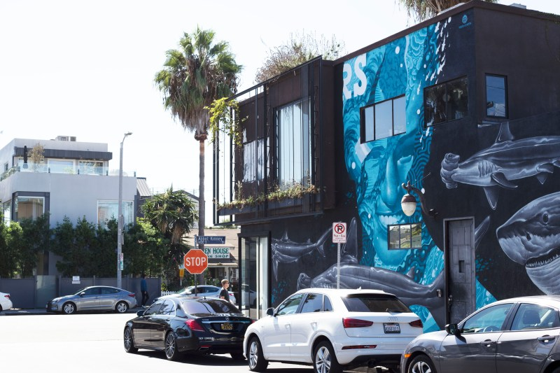 Abbot Kinney Blvd, in Venice. I stopped by while visiting Los Angeles.