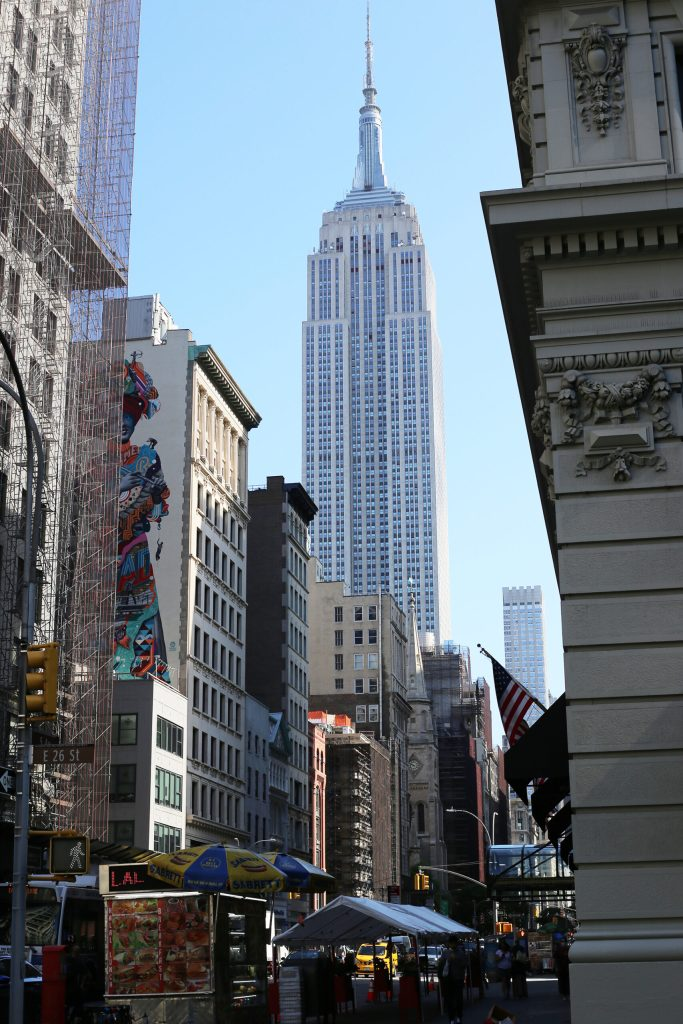 Empire State Building from the Flatiron district