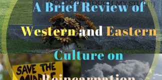 A Brief Review of Western and Eastern Culture on Reincarnation