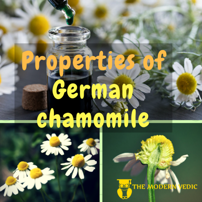 What are the Properties of German Chamomile or Matricaria-Recutita ?