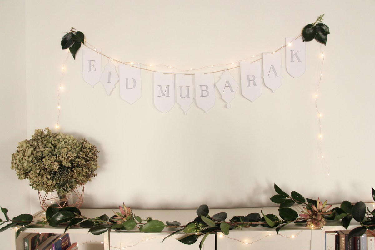 How to: Minimalist Eid Decorations