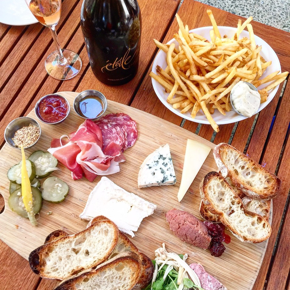 Food at Domaine Chandon