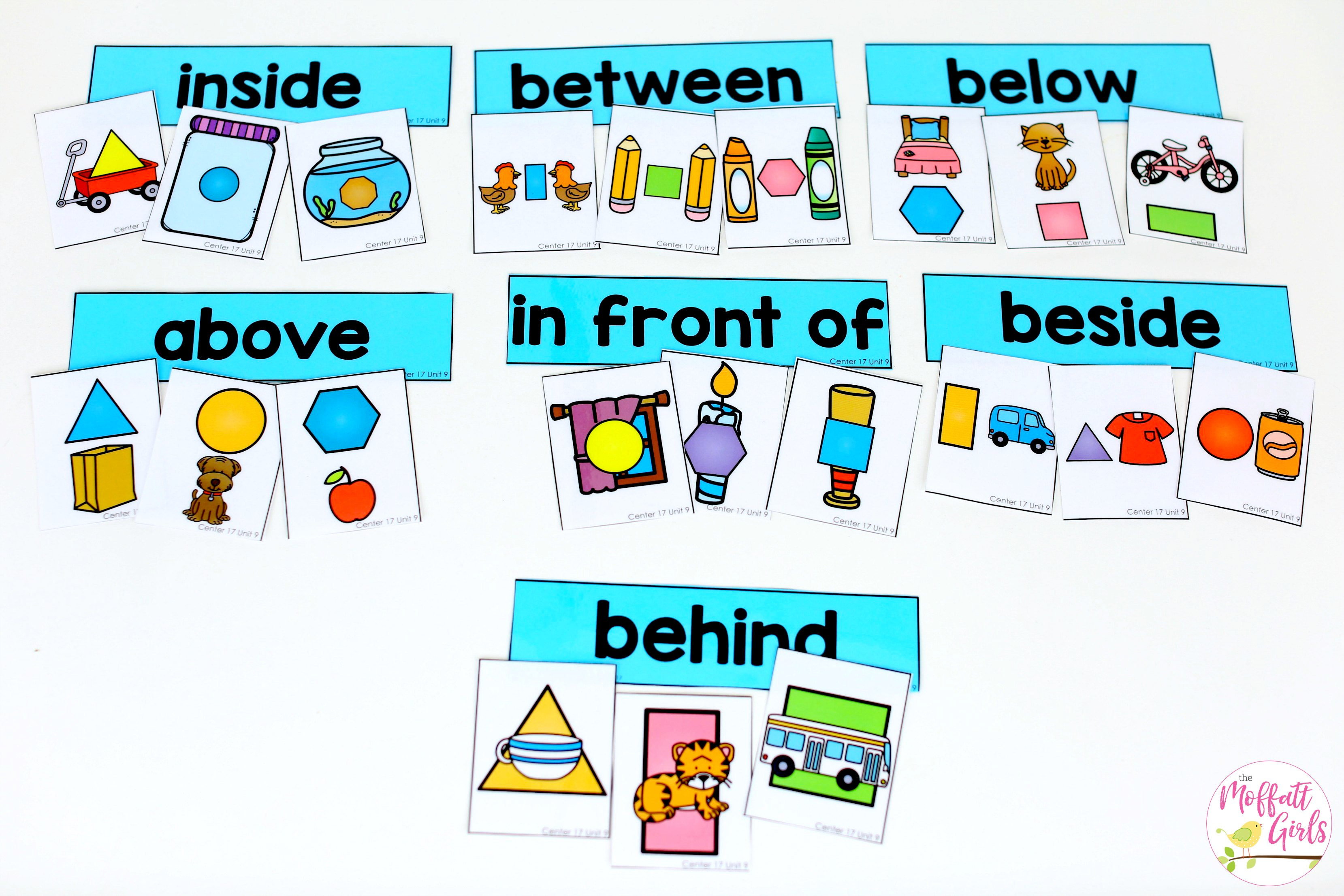 Positional Words And Shpaes