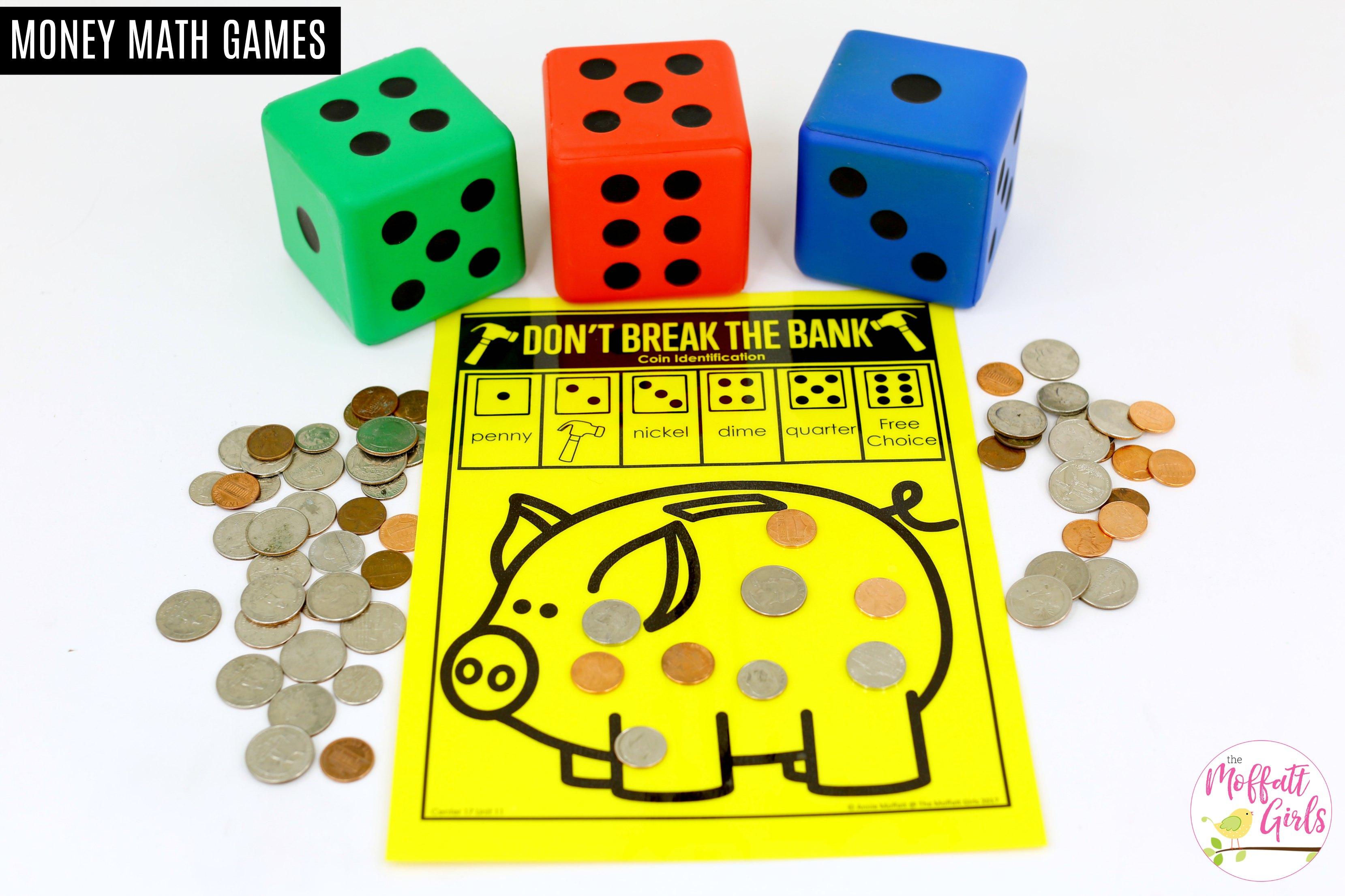 Kindergarten Math Money
