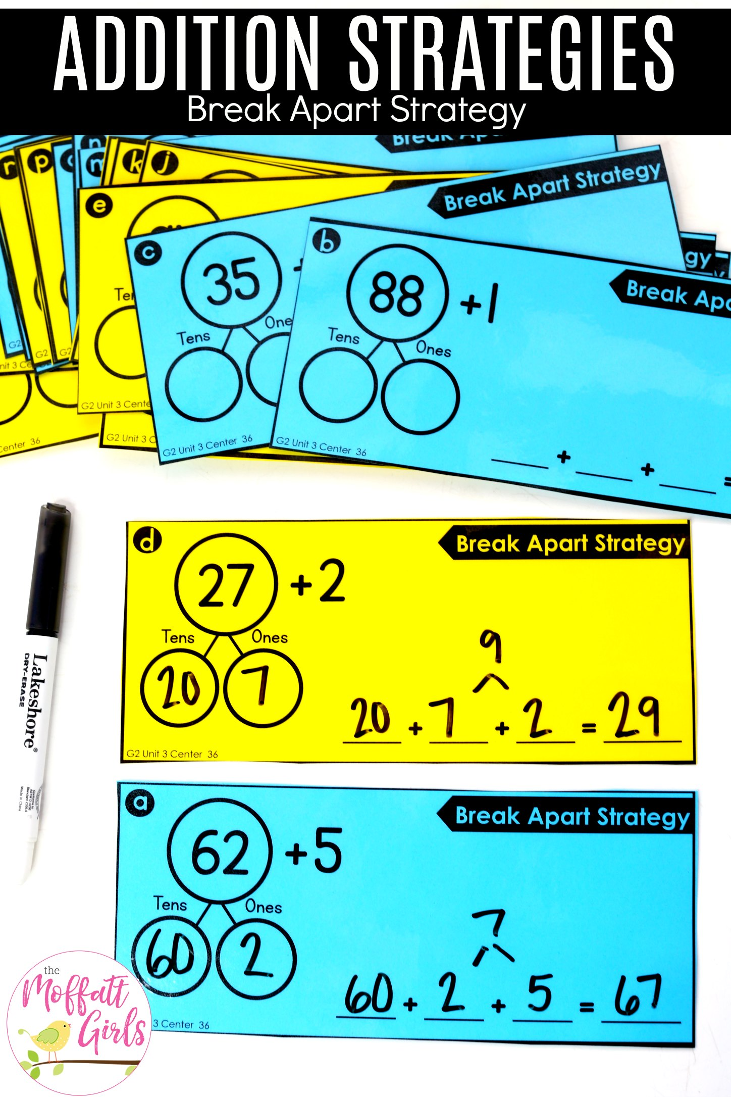 Addition Break Apart Strategies 36b
