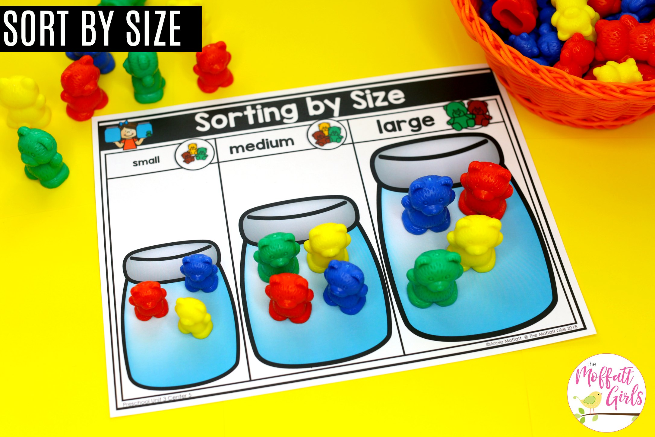 Preschool Math Classify And Sort