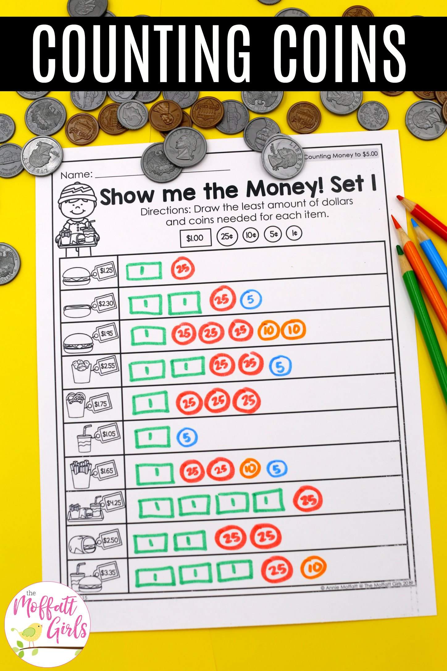 Money Worksheets 2nd Grade 4b