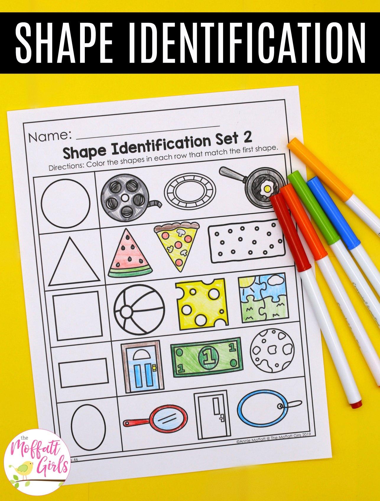 Shape Practice Worksheets 2b