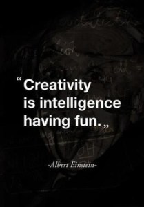 creativityisintelligencefuneinstein