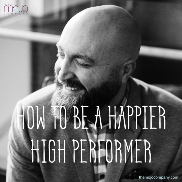 happy high performer