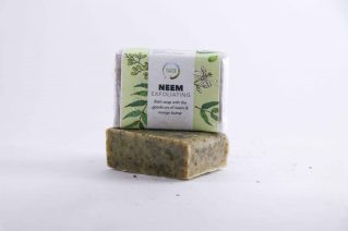 Exfoliating Neem Soap buy, sustainable products.