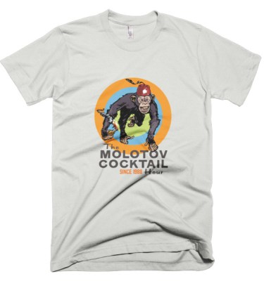 The Molotov Cocktail Hour Since 1988 Short sleeve men's t-shirt