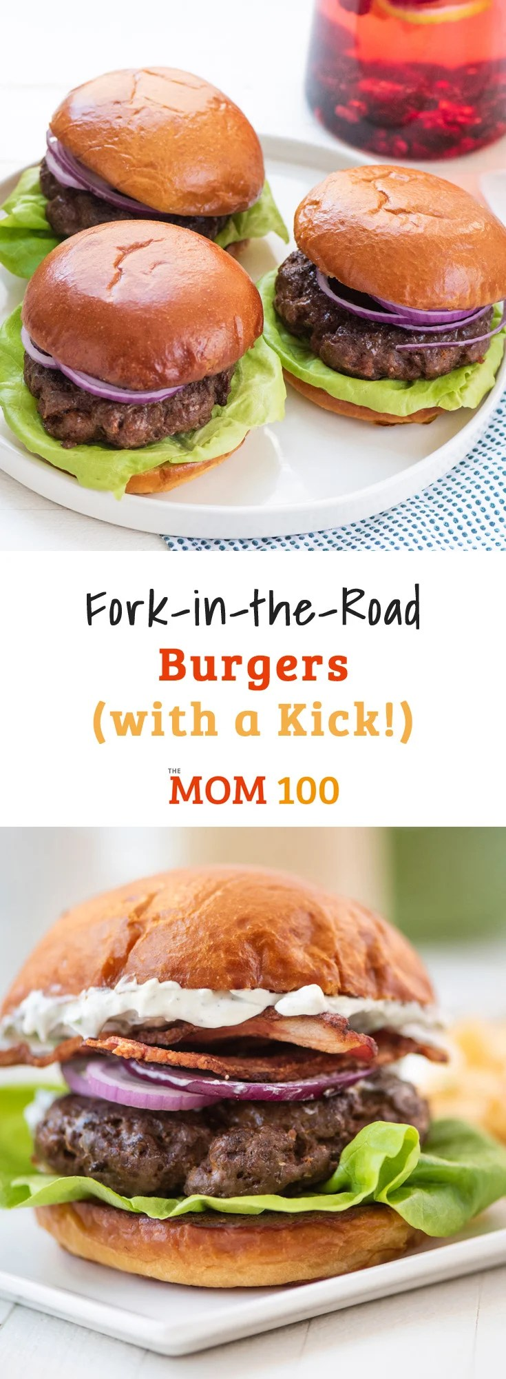 Fork-in-the-Road burgers are versatile and easily adaptable for a family of picky-eaters or for those less spice-inclined.