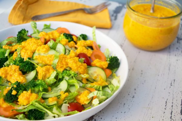 orange Japanese salad dressing