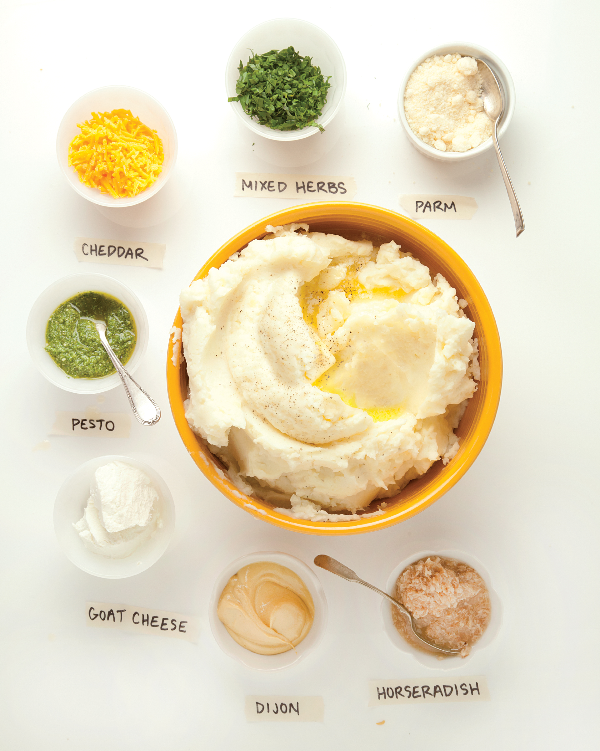 Perfect Mashed Potatoes: The ultimate comfort food; it\'s hard to image a cold weather meal that wouldn\'t be better with a side of mashed potatoes.