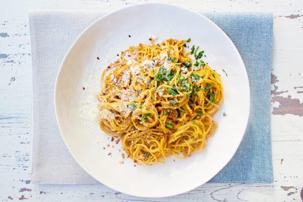 how do you make sun dried tomato pasta / Mandy Maxwell / Katie Workman / themom100.com