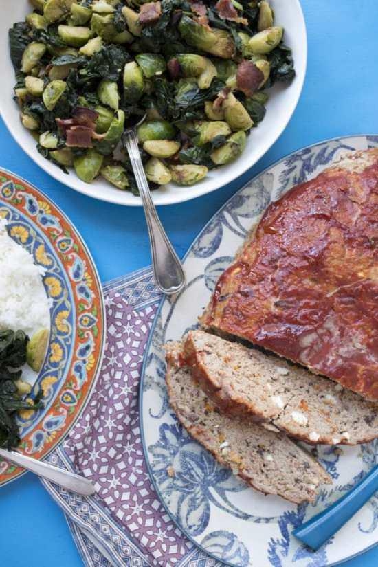 Greek Meatloaf / Luci Beni / Katie Workman / themom100.com