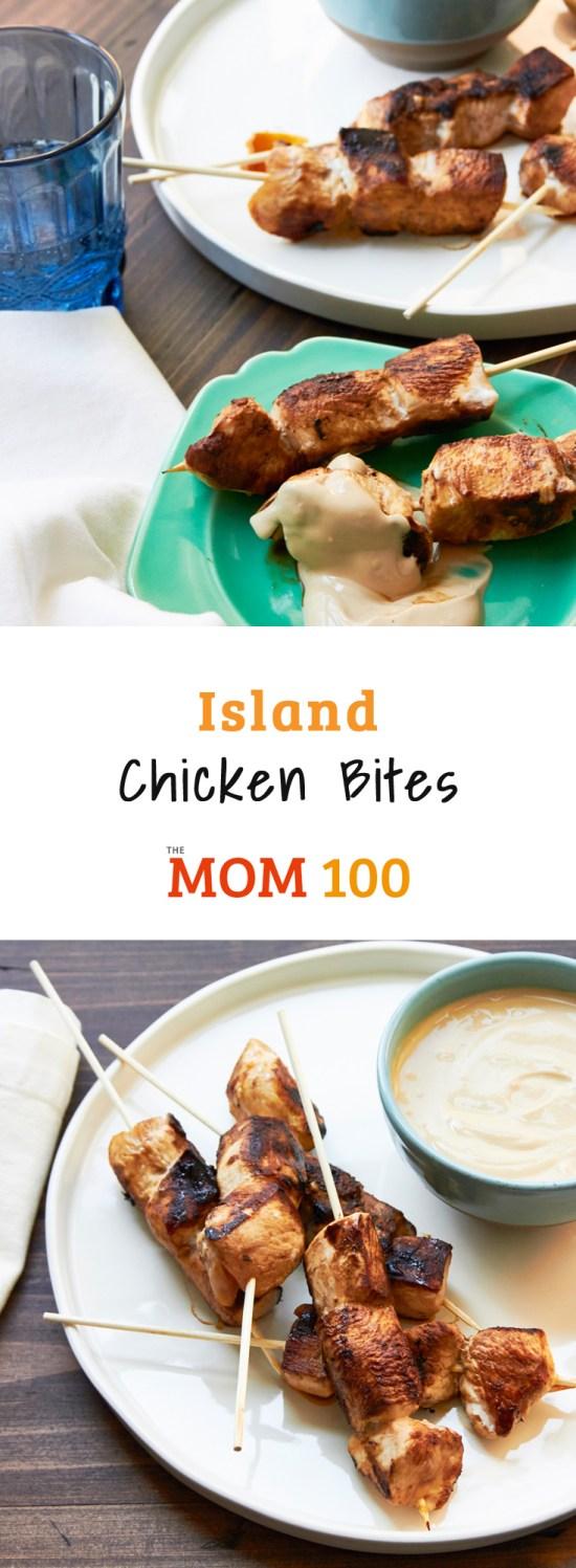 Island Chicken Bites / Mia / Katie Workman / themom100.com