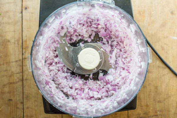 Onions in the Food Processor