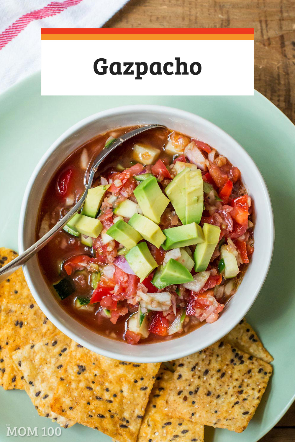 Perfect Summer Gazpacho: How to make the best, most refreshing and absolutely beautiful soup of summer.  With step-by-step instructions and photos.