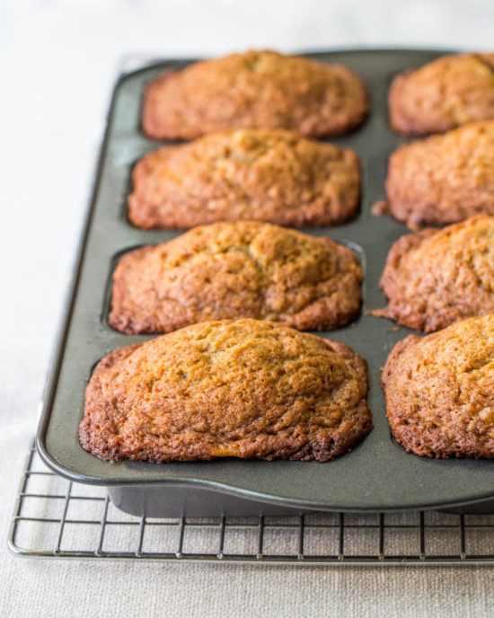 mini banana bread loaves / Sarah Crowder / Katie Workman / themom100.com