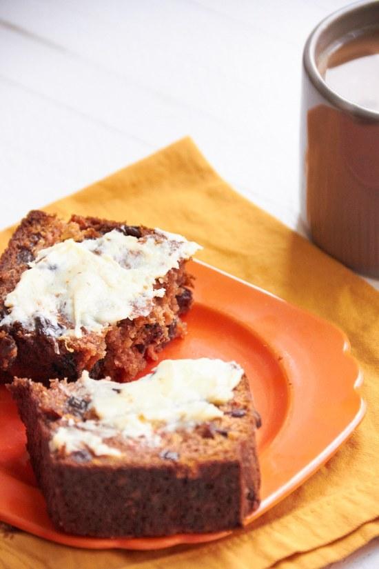 Carrot Raisin Bread Healthy / Mia / Katie Workman / themom100.com